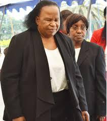 Zambia's Acting Chief Justice Lombe Chibesakunda - 2013