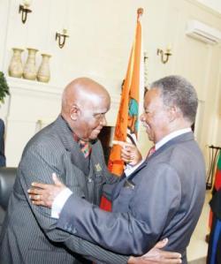 President Sata with President Kenneth Kaunda