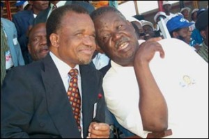 Chiluba and Sata - MMD leaders 1991 to 2002