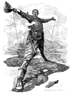 Cecil Rhodes is the patron saint of Pan-Africanism