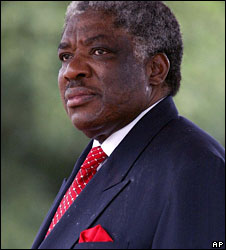 """I am not a cabbage, I'm a piece of steak"" - Levy Patrick Mwanawasa"