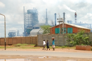 Pollution in Mufulira, Zambia