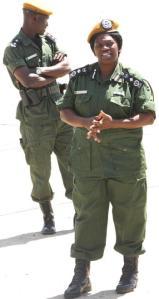 Police Inspector-General Stella Libongani