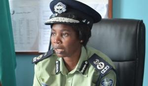 Lusaka Police Commissioner Charity Katanga